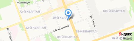 Аура на карте Ангарска