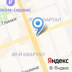 Центральная детская библиотека им. А.П. Гайдара на карте Ангарска