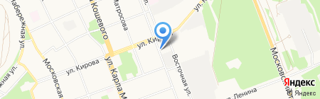 Дионис на карте Ангарска