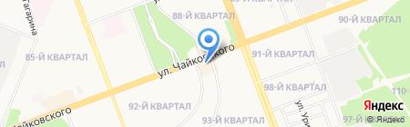 Легион на карте Ангарска