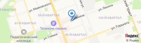 СОГАЗ на карте Ангарска