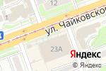 Схема проезда до компании Сияние в Ангарске