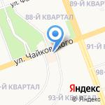 Легион Тим на карте Ангарска