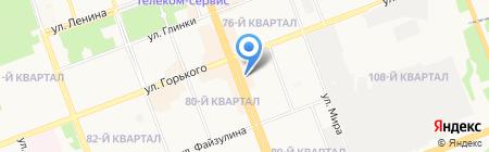 Старая квартира на карте Ангарска