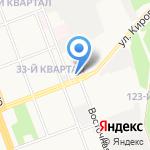 Нефедьев А.А. на карте Ангарска