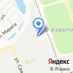 ХимПЛАСТ на карте Ангарска