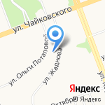 Интекс Групп на карте Ангарска