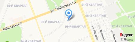 Курьер Сервис-Иркутск на карте Ангарска