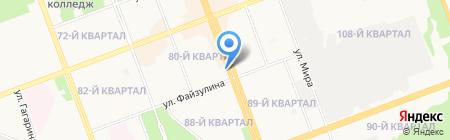 Территориальный фонд обязательного медицинского страхования граждан Иркутской области на карте Ангарска
