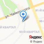 Детский сад №103 на карте Ангарска