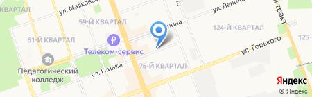 ДИАСИБ на карте Ангарска