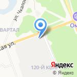 АВМ на карте Ангарска
