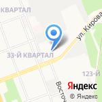 Дизель-тест на карте Ангарска
