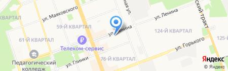 Александр на карте Ангарска
