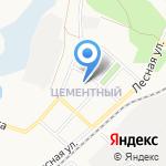Детский сад №76 на карте Ангарска