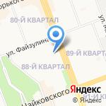 Элит на карте Ангарска
