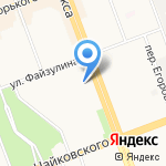 Центр риэлторских услуг на карте Ангарска