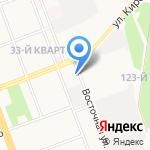 Минутка на карте Ангарска