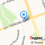 Перестройка на карте Ангарска