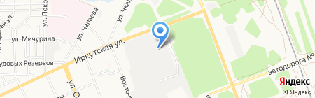 Камелот на карте Ангарска