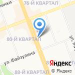 Народная пивная на карте Ангарска