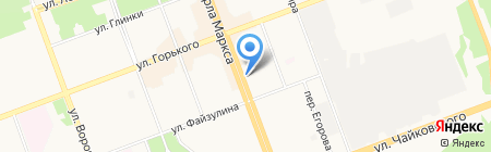 Фармэконом на карте Ангарска