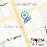 Алонта на карте Ангарска