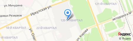 Иркутская ремонтная компания на карте Ангарска