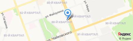 Мирамакс на карте Ангарска