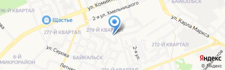 АДС на карте Ангарска