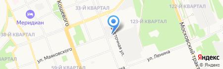 Ангарский водоканал на карте Ангарска