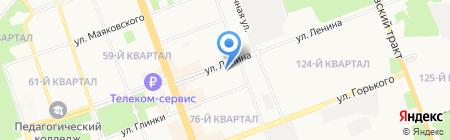 ЭКО продукты на карте Ангарска