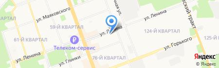 Govinda на карте Ангарска