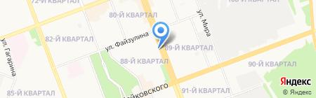 Спортлото на карте Ангарска
