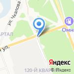 ЭлитШина на карте Ангарска