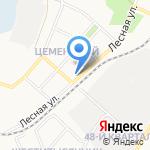 Почтовое отделение №9 на карте Ангарска