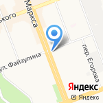 Студия красоты Ольги Каблуковой на карте Ангарска
