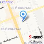 Коллегия адвокатов на карте Ангарска
