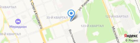 ПрогрессСтрой на карте Ангарска