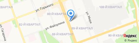 Bona на карте Ангарска