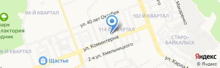Областной детский дом г. Ангарска на карте Ангарска