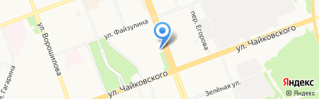 Макфудс на карте Ангарска