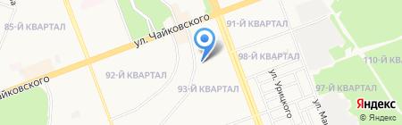 Детский сад №71 на карте Ангарска