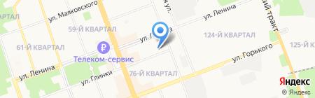 Детский сад №115 на карте Ангарска