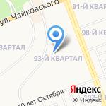 Средняя общеобразовательная школа №3 на карте Ангарска