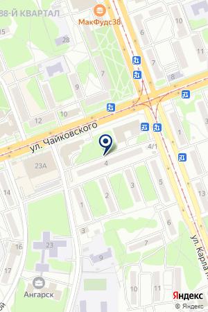 Центр оперативной печати на ул. 93-й квартал на карте Ангарска