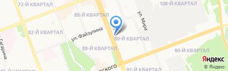 Жанна на карте Ангарска