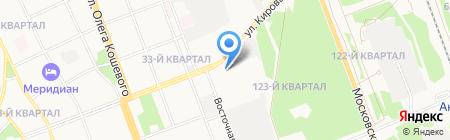 ДомоСтрой на карте Ангарска