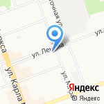 Дарина на карте Ангарска