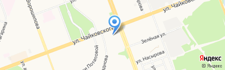 СТРАЖ на карте Ангарска